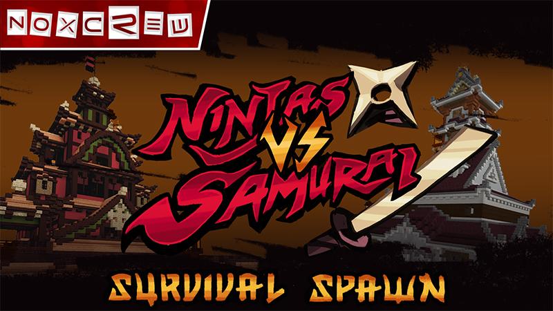 Ninjas VS Samurai Spawn on the Minecraft Marketplace by Noxcrew