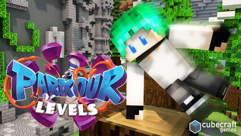Parkour Levels on the Minecraft Marketplace by CubeCraft Games