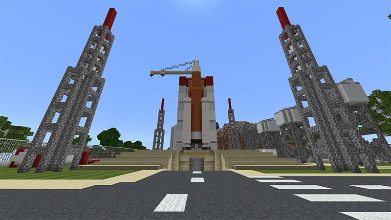 SolX Space Agency on the Minecraft Marketplace by Octovon
