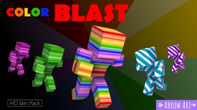 Color Blast on the Minecraft Marketplace by Arrow Art Games