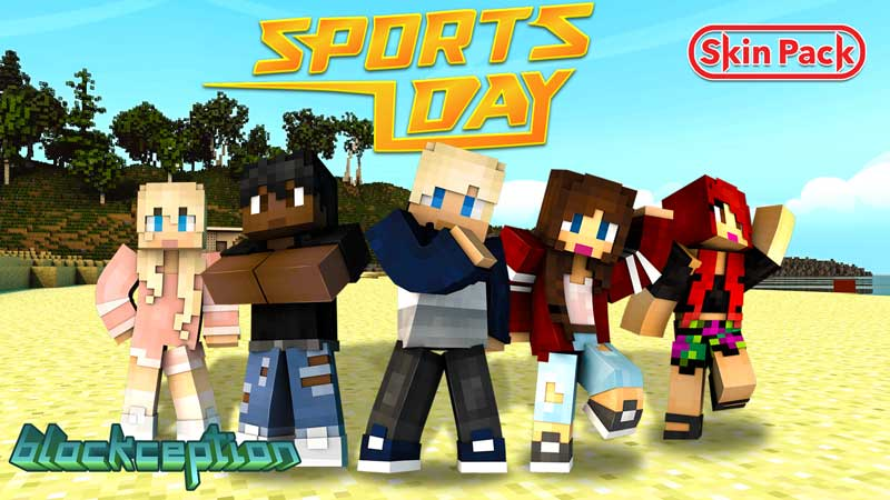 Sports Day Skin Pack on the Minecraft Marketplace by Blockception