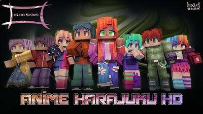 Anime Harajuku HD on the Minecraft Marketplace by LinsCraft