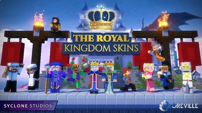 The Royal Kingdom HD Skins on the Minecraft Marketplace by Syclone Studios