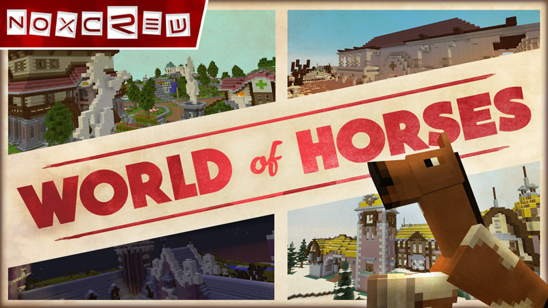 World of Horses on the Minecraft Marketplace by Noxcrew