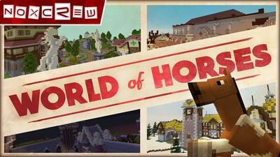 World of Horses on the Minecraft Marketplace by Noxcrew