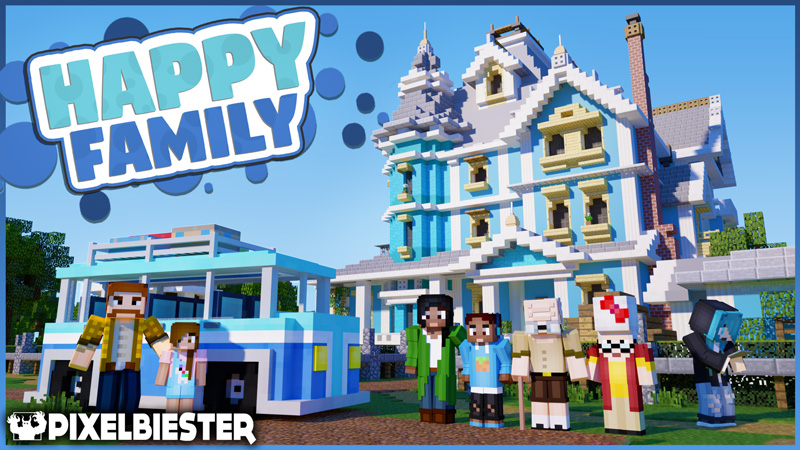 Happy Family on the Minecraft Marketplace by Pixelbiester