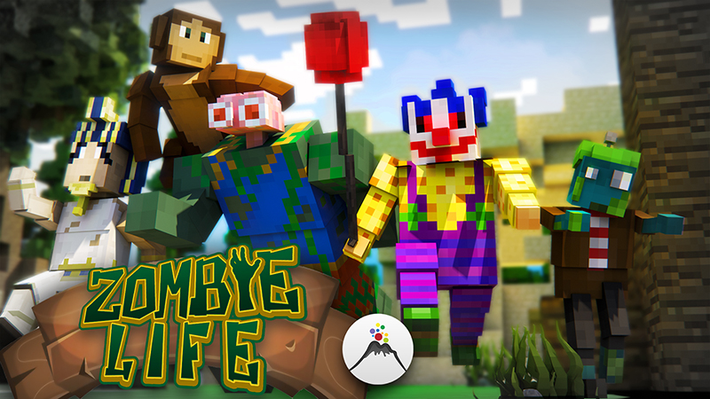 Zombie Life on the Minecraft Marketplace by Volcano