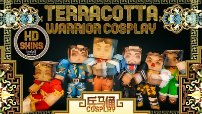 Terracotta Warrior Cosplay HD on the Minecraft Marketplace by LinsCraft